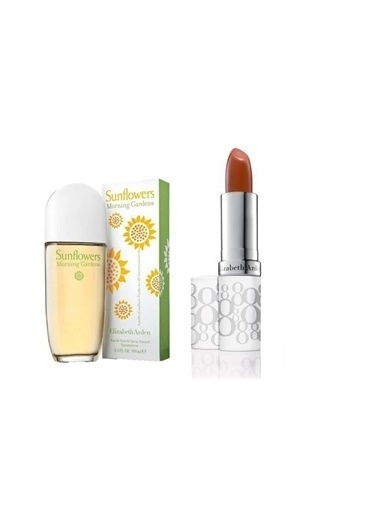 Elizabeth Arden Elizabeth Arden Sunflowers Morning Garden Edt 100 Ml Kadın Parfüm+Stick 3.7 Gr Honey Renksiz